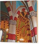 Dulce Iglesia Wood Print