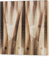 Dulcimer Abstract Wood Print