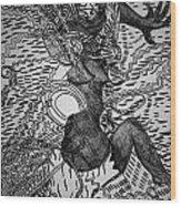 Dundunba Dance - Guinea Wood Print