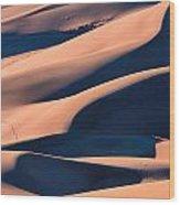 Dune 3 Wood Print