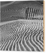 Dune Patterns Wood Print by Steven Ainsworth