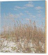Dune To Sky Wood Print