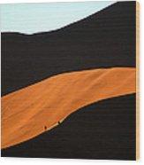 Dune Tunnel Wood Print