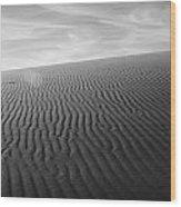 Dunes 3 Wood Print