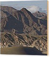 Dunes Of Death Valley Wood Print