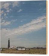 Dungeness Landscape Wood Print