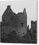 Dunluce Castle Wood Print