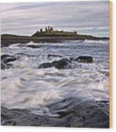Dunstanburgh Castle Iv Wood Print