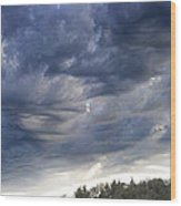 Dupee Valley Sundown Img 432336---2012 Wood Print