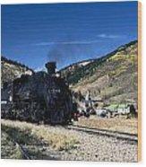 Durango And Silverton Train Wood Print