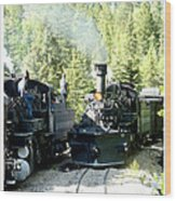 Durango Silverton Steam Locomotive Wood Print