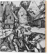 Durer: Prodigal Son, 1496 Wood Print