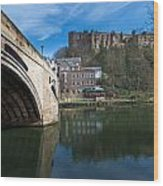 Durham Castle Wood Print