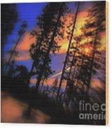Dusk Wood Print
