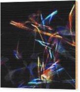 Dusted Rage 3 Wood Print by Cyryn Fyrcyd