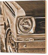 Duster 340 Wood Print