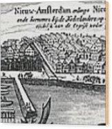 Dutch Recapture Of New York, 1673 Wood Print