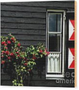 Dutch Window Wood Print