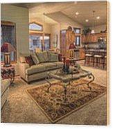 Dvth Living Room Wood Print