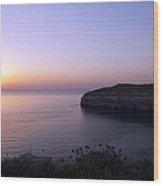 Dwejra Cliffs Wood Print