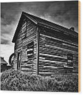 Dwellers Dust Wood Print