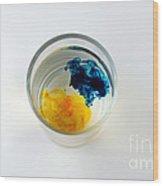 Dye In Water, 2 Of 5 Wood Print