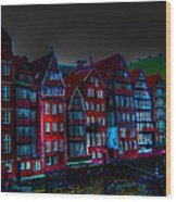 Dyke Road  -  Hamburg Wood Print