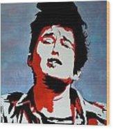 Dylan Wood Print by Austin James