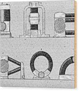 Dynamo Types, 19th Century Wood Print