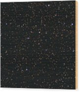 Eagle And Omega Nebulae Wood Print by John Sanford