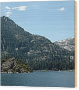 Eagle Falls In Emerald Bay Wood Print