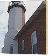 Eagle Harbor Wood Print