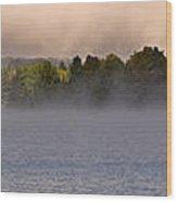 Eagle Lake Panorama Wood Print