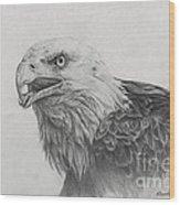 Eagles Quest Wood Print
