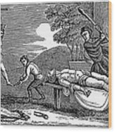 Early Christian Martyrs Wood Print by Granger