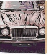Early Jaguar Xj6 Wood Print