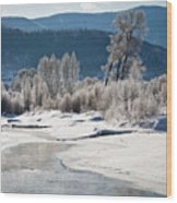 Early Morning, Yampa River, Steamboat Springs Wood Print