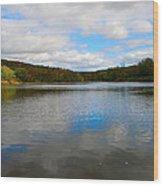 Earth Sky Water Wood Print