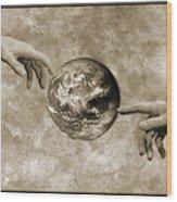 Earth's Creation Wood Print by Detlev Van Ravenswaay