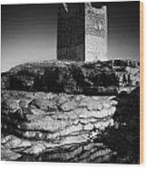 Easkey Roslee Roslea Castle County Sligo Ireland Wood Print