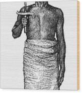 East Africa: Executioner Wood Print