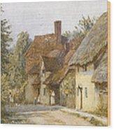 East Hagbourne Berkshire Wood Print
