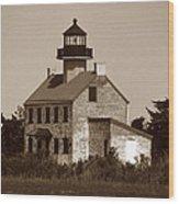 East Point Lighthouse Wood Print