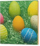 Easter Egg Seven 1 Wood Print