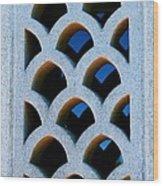Eastern West Window Wood Print