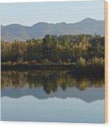 Easton Reflection Wood Print