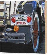 Eat Washington Apples2 Wood Print