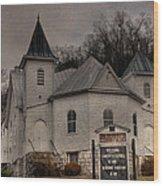 Ebenezer Arp Church Wood Print