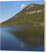 Echo Lake Franconia Notch New Hampshire Wood Print