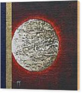 Eclips Of The Sun Wood Print